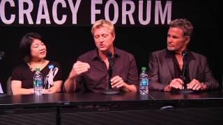 Karate Kid 30th Anniversary: Ralph Macchio and Billy Zabka on working with Pat Morita