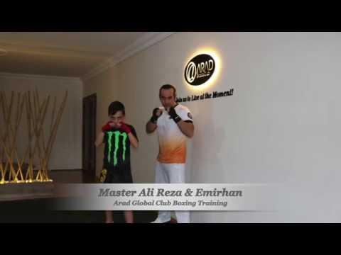 Master Ali Reza & Emirhan, Boxing Training, Eskişehir Boks