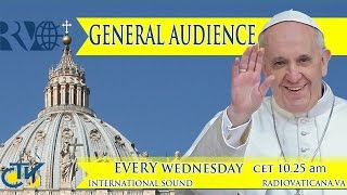 Pope Francis General Audience 2015.04.22