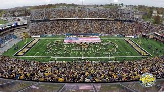 2017 West Virginia University Marching Band 34 Armed Forces Salute 34