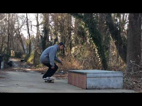 Half Cab Crook Inward Heel - Spencer Brown
