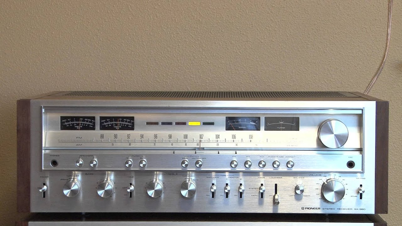 1979 Pioneer SX-980 Stereo Receiver
