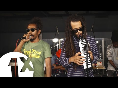 Suns Of Dub Cypher for 1Xtra in Jamaica