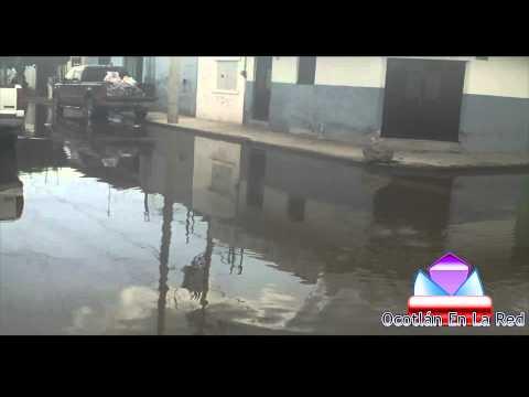 Inundación 5/Octubre/2014 Colonia Florida Ocotlán Jalisco