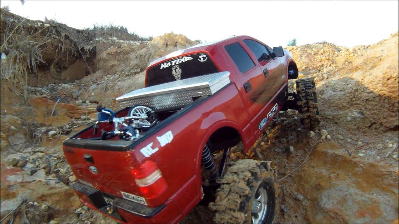 Ford F150 4x4 Axial Scx10 Rc Adventure Hills N Trail