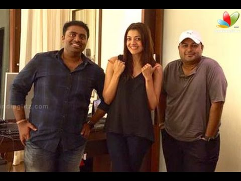 Kajal Agarwal turns a singer   New Movie   Hot Cinema News