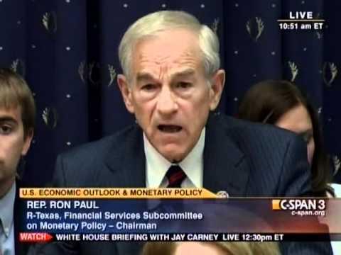 Ron Paul vs Bernanke: Is Gold Money? - July 13, 2011
