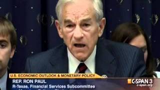 Ron Paul vs Bernanke_ Is Gold Money? - July 13, 2011