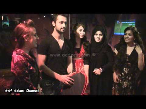 Birthday Celebrations of Atif Aslam in Dubai - 10th March, 2011 || www.aadeez.com Music Videos