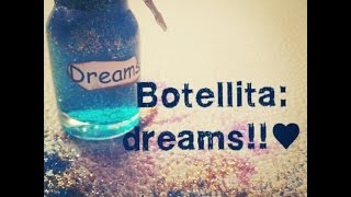 Tutorial: Bottle charms dreams!!♥