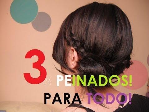 Peinados para todo - recogidos ★