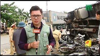 Lại xảy ra tai nạn giao thông nghiêm trọng trên QL5   VTC14