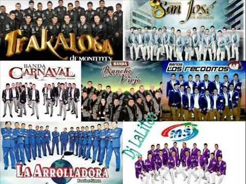 Bandas Mix Banda Ms La Arrolladora La Adictiva Carnaval