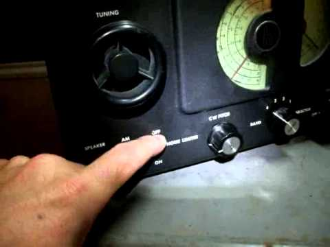 Hallicrafters Model- S38 Shortwave Ham Radio 1234321
