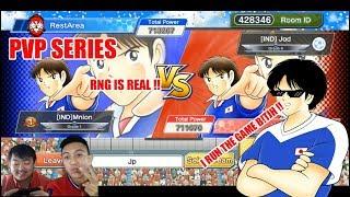 Captain Tsubasa Dream Team PVP VS JODI THE GREED!! CAN I WIN?!
