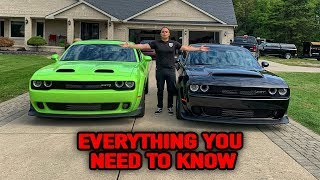 HELLCAT REDEYE VS DODGE DEMON