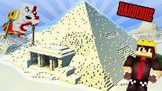 Minecraft HARDCORE | Am explorat PRIAMIDA!
