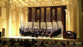 The Ground - Ola Gjeilo - Baylor University's Concert Choir