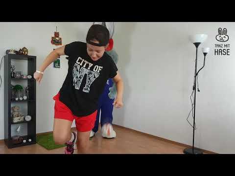 Wie lerne ich zu tanzen. Tanz mit Hase. Online Tanzschule. Teil 2