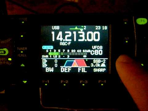 Strange filter configuration for rx with icom 7000