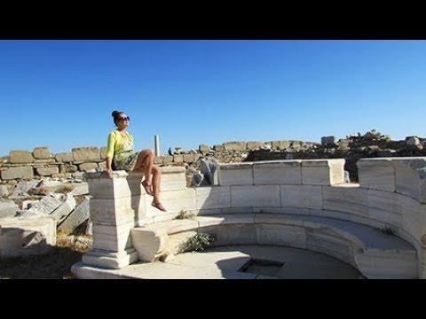 Греческий остров Делос. Место рождения Аполлона и Артемиды