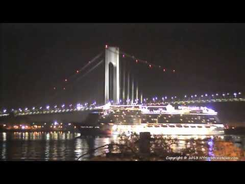 NORWEGIAN BREAKAWAY First Arrival in New York Harbor 05-07-2013