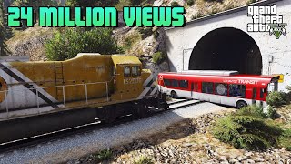 FUNNY | Stop The Train GTA V