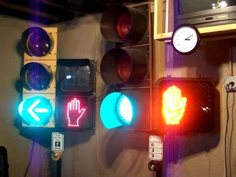 LED traffic light project 2009