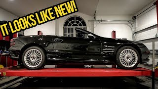 I Polished The Cheapest Mercedes SL55 AMG In The World And It Looks AWESOME! - Project SL55 AMG Pt 3