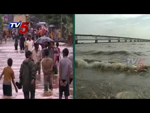 West Godavari | Massive Floods By Heavy Rains : TV5 News
