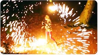 Lit Sparkler Juggling | How to Juggle Fire