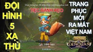 Trang phục mới ra mắt Việt Nam: FENNIK Tiệc Bánh Kẹo [Mua và Test] Gặp ngay đội hình 5AD