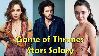 Game Of Thrones Stars Salary - 2019