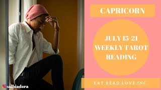 "CAPRICORN - ""THE WAIT IS OVER HERE THEY COME"" JULY 15-21 WEEKLY TAROT READING"