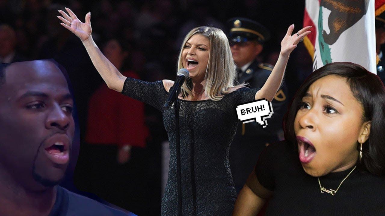 Fergie national anthem