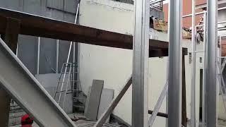 Cara.memasang rangka dinding grc