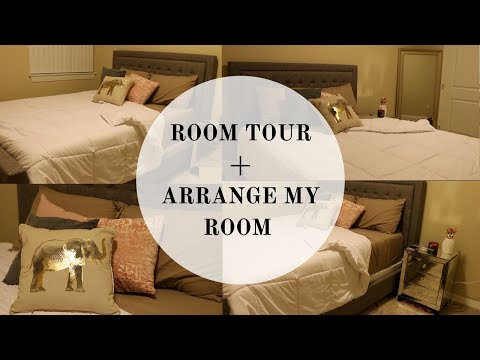 Room Tour 2018 + Watch Me Arrange My New Room