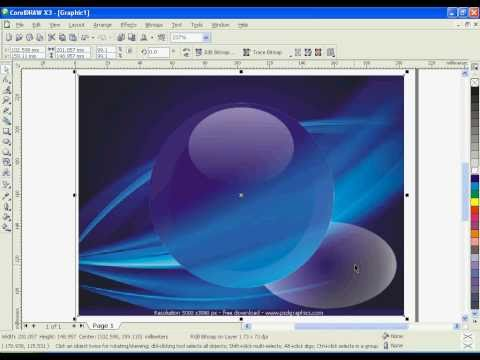 corel tutorials: glass effect in corel draw amazing