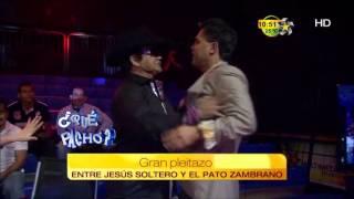 Gran Pleitazo Entre Jes S Soltero Y Pato Zambrano