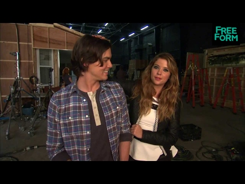 Ravenswood - Behind the Scenes w/ Tyler Blackburn & Ashley Benson