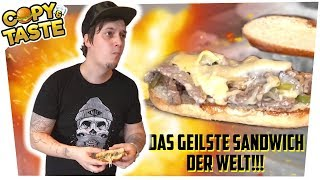 Einfach & Geil: Philly-Cheese-Steak-Sandwich 🥩🥪 Copy & Taste #CuT