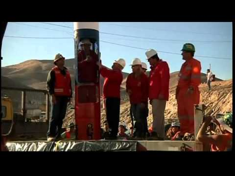 Rescue capsule arrives at Chile mine
