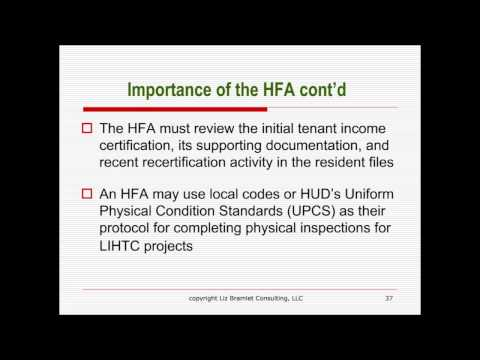 Low Income Housing Tax Credits (LIHTC) Compliance & Management