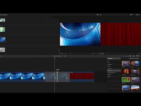Final Cut Pro X: Add and Edit Transitions
