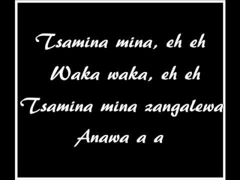 Waka Waka(This Time For Africa) Lyrics -- Official World Cup...
