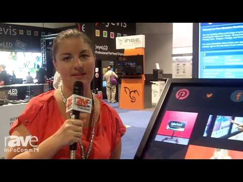 InfoComm 2014: CyberTouch Details its Mobile Table