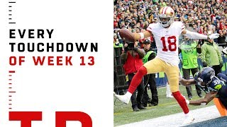 Every Touchdown from Week 13 | NFL 2018 Highlights
