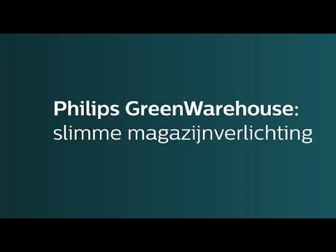 Philips GreenWarehouse verlichtingssysteem maakt uw magazijn intelligent