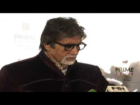 Amitabh Bachchan Honoured With India's Prime Icon Title