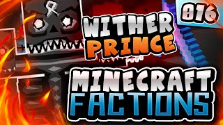 WITHER PRINCE BATTLE! | Minecraft COSMIC Factions! #16 (Cosmic PvP Pleb Planet)